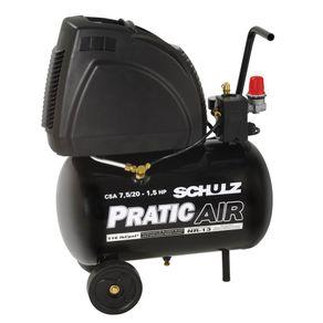 Motocompressor-Ar-CSA75-20-116lbs-Pratic-Air---s--Oleo-110V---9150310-0---Schulz