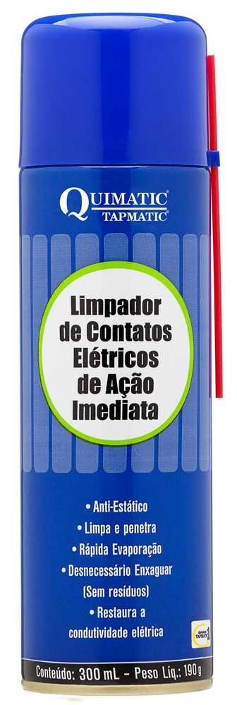 Limpa Contato Elétrico AÇÃO IMEDIATA QUIMATIC - spray 300mL GA1 ... ec19f365c7