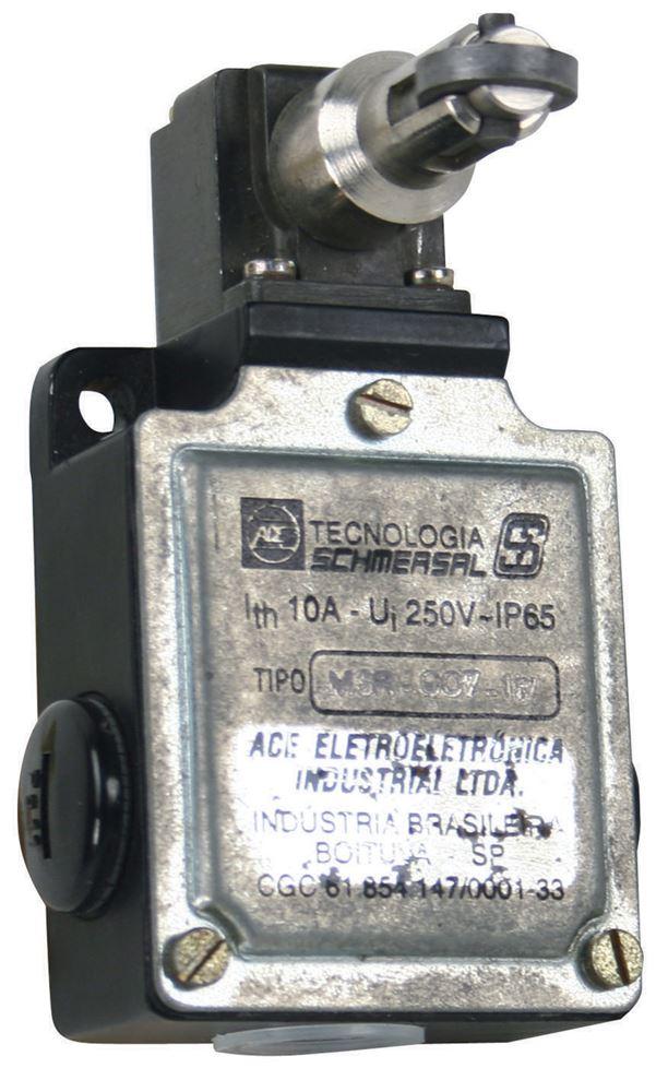 Chave Fim de Curso Caixa metal com Pistão e Roldana Metálica 1NA + 1NF - Ace f3e67ec8f9
