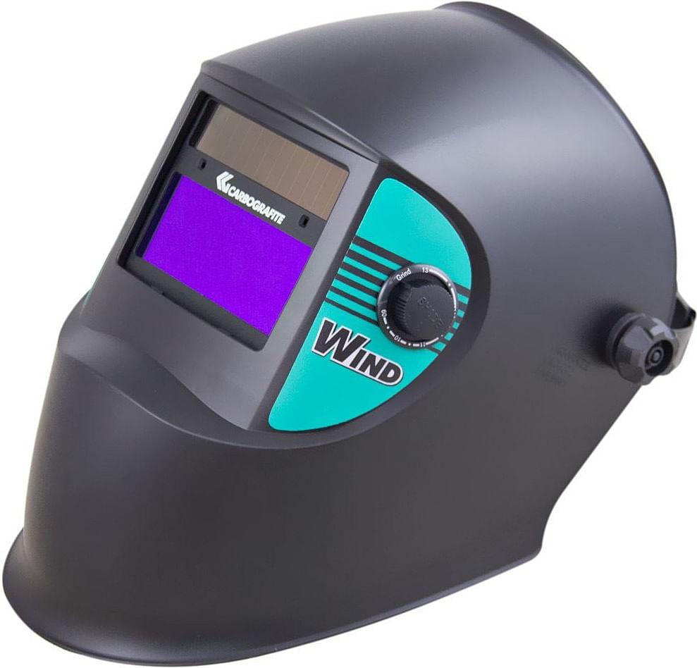 Máscara Solda Automática Wind Tonalidade de 9 a 13 - Carbografite ... 7b61e82544