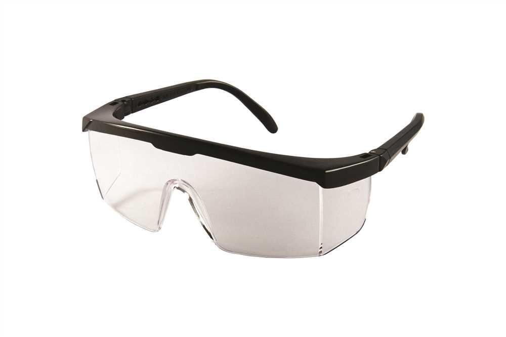 e83acd6480aaf Óculos Panorâmico Ampla Visão com Lente Incolor Elástico e ...