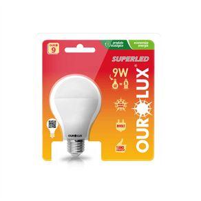 Lampada-Led-Bulbo-9W-Bivolt-E-27-Amarela-2700K-Ourolux---20035-9W---Ourolux