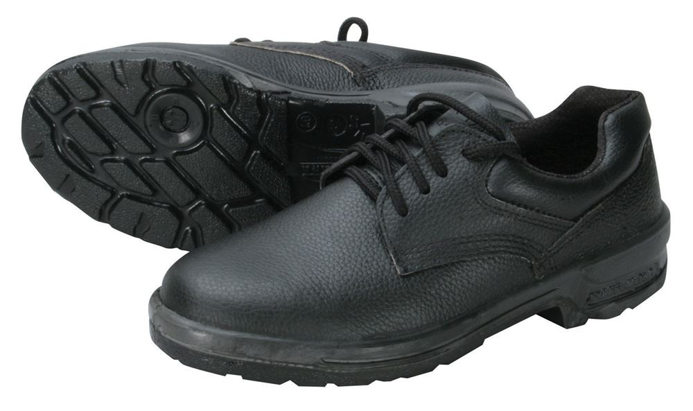 Sapato em Couro com Cadarço sem Biqueira Solado PU Bidensidade - Fujiwara 01b90e4790