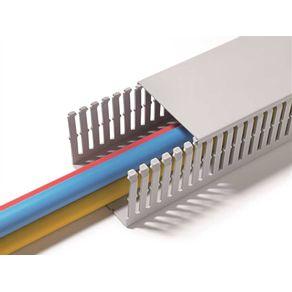 Canaleta--PVC-Aberta-30x50mm-2m---HellermannTyton---11800053---HellermannTyton