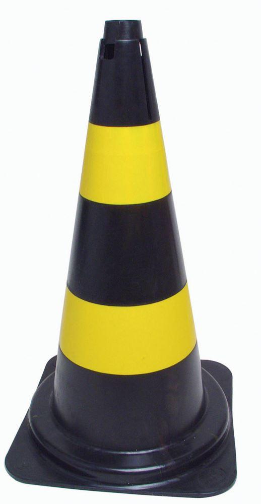 Cone para Sinalização Branco Laranja 50cm 0,6kg - Ferramentas Gerais 1da5428210