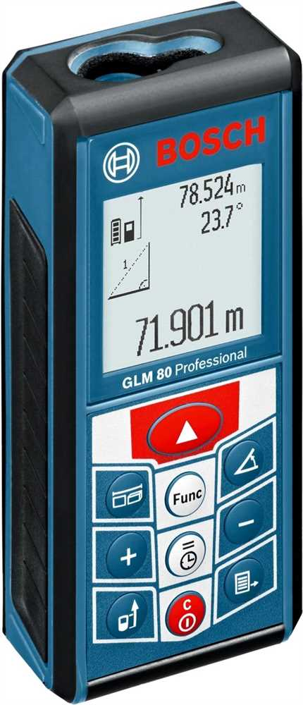 23e67541815de Trena Laser 80m GLM 80 IP 54 - Bosch - Ferramentas Gerais