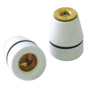 Receptaculo-de-Porcelana-para-Arandela-com-Anel-E27---MT2233---Decorlux