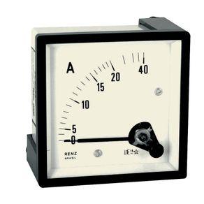 Amperimetro-Leitura-Direta-72x72-0-20-40A---Renz---FM72-20-40A---Renz