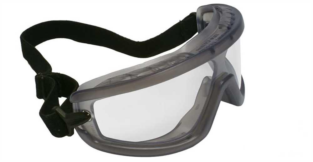 29942f09088f9 Óculos de Segurança Policarbornato Ampla Visão com Lente Incolor ...