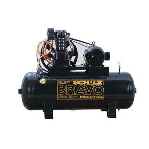 Compressor-Ar-Bravo-CSL-40BR-250L-175lbs-Trifasico-380-660V---Schulz---9227767-0---Schulz