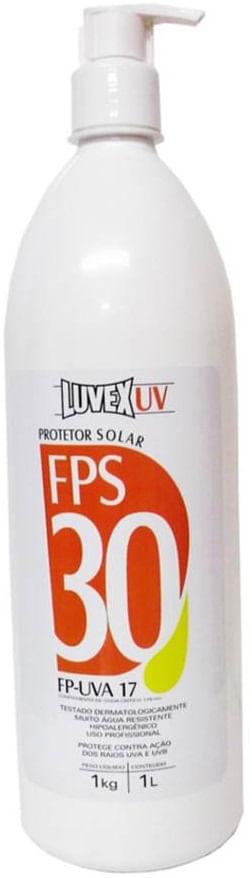 9cbaef247f9a9 Creme Protetor Solar 1Kg FPS-30 Contra Raios UVA UVB - Luvex ...