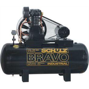 Compressor-Ar-Bravo-CSL-20BR-200L-175lbs-5CV-Trifasico-220-380V---9227759-0---Schulz