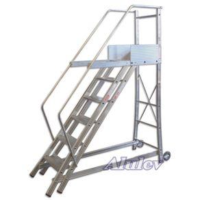 Escada-Trepadeira-de-Aluminio-TR-352-350x355m--14-Degraus---Alulev---TR-352---Alulev
