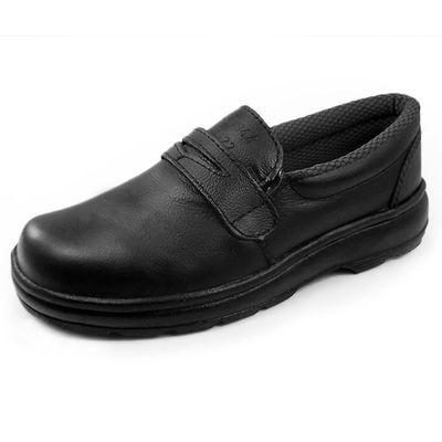Sapato em Couro com Velcro 37 Monodensidade - Fujiwara 8dd157f461