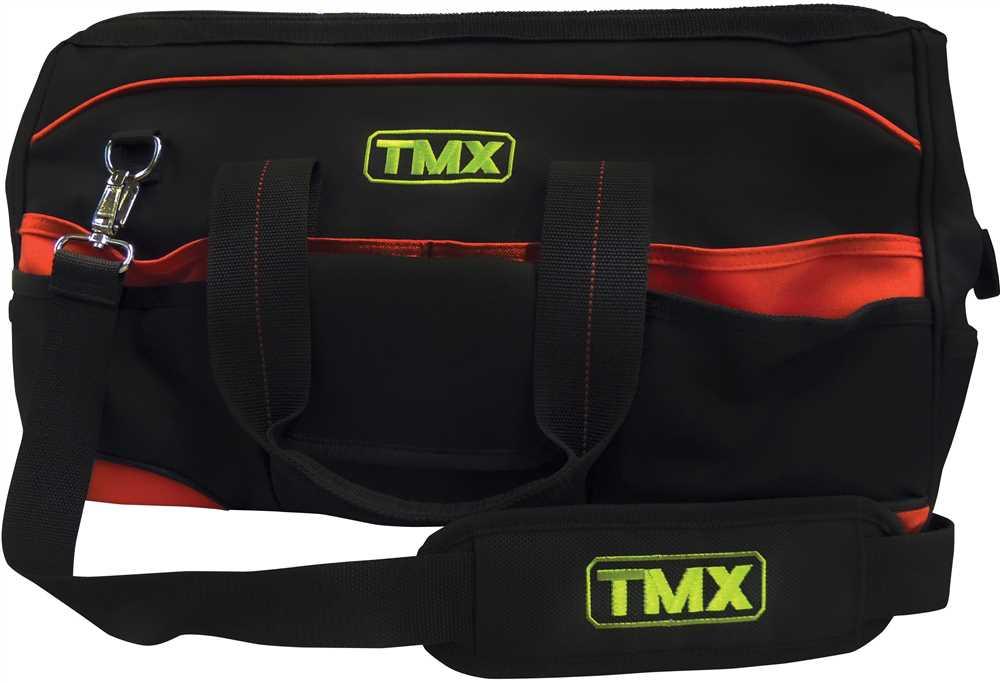 Bolsa para Ferramentas com Compartimentos 50x23x30cm BRF5544 - TMX ... 9af5315ed7b