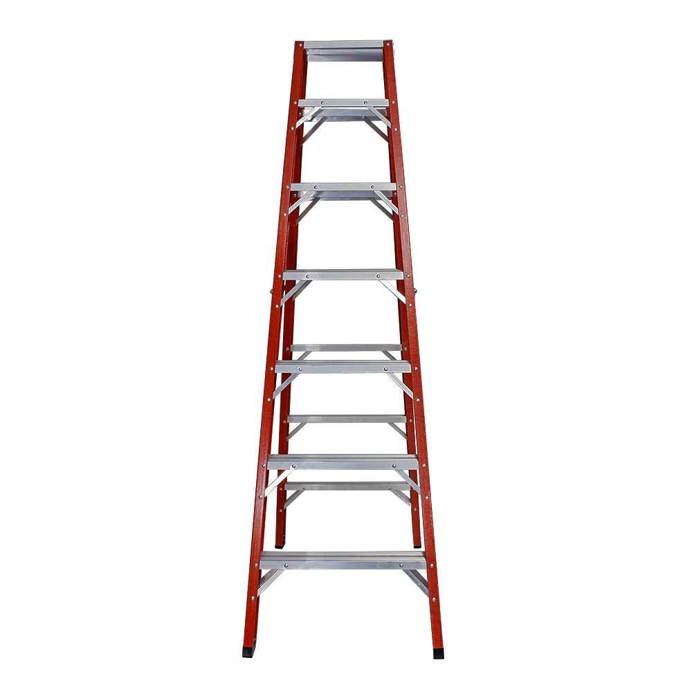 Escada de Abrir Fibra de Vidro 2 Lados 12 Degraus 3,80m ... 0696a2bfcc