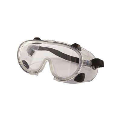 Óculos Panorâmico Ampla Visão com Lente Incolor Elástico e Ventilação por  Válvulas RA 3034f92890