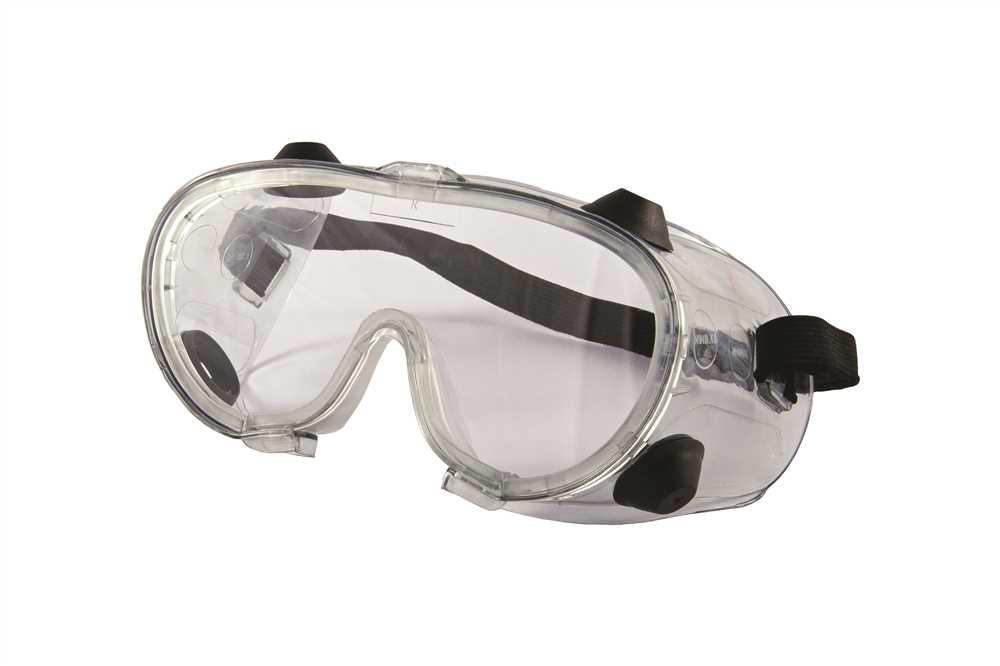 Óculos Panorâmico Ampla Visão com Lente Incolor Elástico e Ventilação por  Válvulas RA 1fdf5ef563