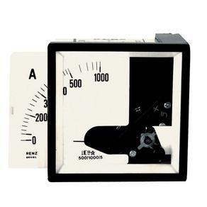 Amperimetro-para-Transformador-de-Corrente-72x72-0-500-1000-5A---Renz---FM72-5A-500-1000A---Renz