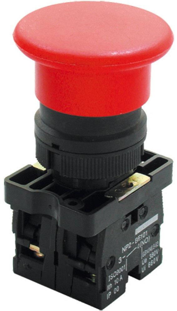 Botão Cogumelo Vermelho com Trava 22 1NA+1NF XB4-BT845 - Schneider ... bf077886f1