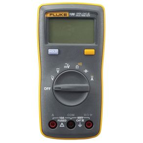 Multimetro-Digital-Cat-lll-600V-106---FLUKE-106---Fluke