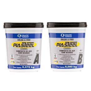 Solda-a-Frio-PLASTEEL-MASSA-4-1---450g-PQ1---Quimatic-Tapmatic---PQ1---Quimatic-Tapmatic
