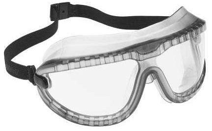 Óculos de Segurança Policarbornato Ampla Visão com Lente Incolor Splash  Gogglegear b71b166e64