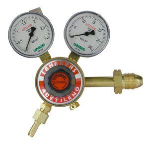 Regulador-para-Acetileno-Simples-Estagio-com-vazao-de-15--m³-h----FRA-103---Famabras