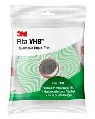 c1254b347f618 Fita Dupla Face VHB 4910 Transparente Espessura 1,0mm 15mmx20m ...