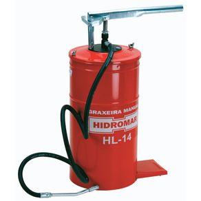 Bomba-Graxa-Manual-Balde-14-Kg-com-Mangueira-150m---HL-14---Hidromar