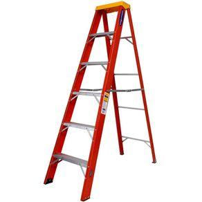 Escada-de-Abrir-Fibra-de-Vidro-1-Lado-5-Degraus-183m---RF-5---Cogumelo