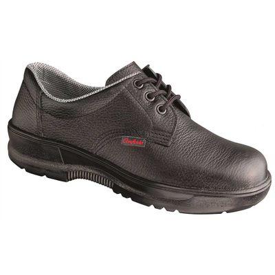 Sapato em Couro com Cadarço e Biqueira Plástica Bidensidade - Conforto 3b12f988d1