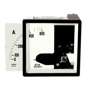 Amperimetro-para-Transformador-de-Corrente-Escala-Intercambiavel-72x72-5A---Renz---FM72-5A-P-TC-ESCALA-INTERC---Renz