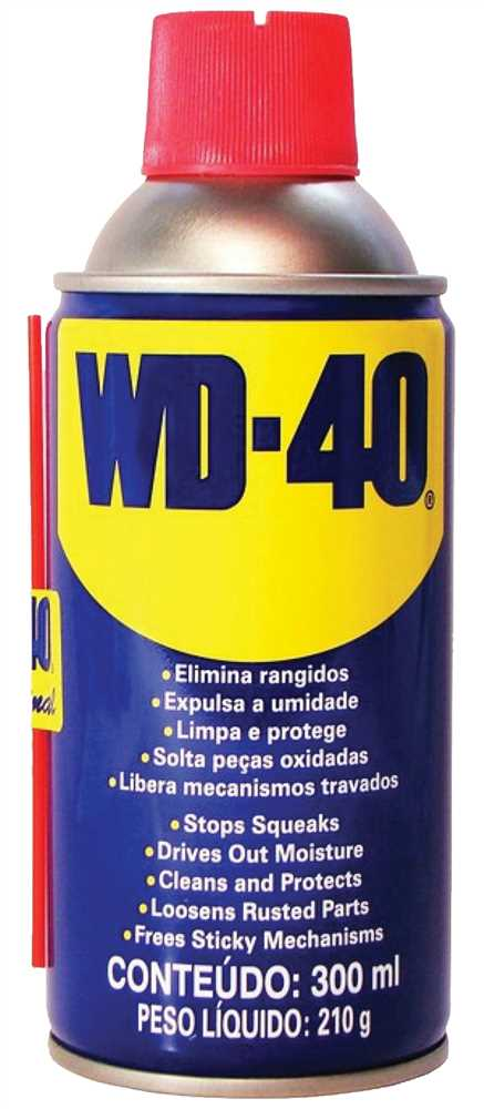 Óleo Multiuso 300ml WD-40 - Ferramentas Gerais 8464ee5e35