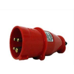 Plugue-Corpo-de-Nylon-3P-T-16A-380V-6H-Vermelho---N4076---Steck