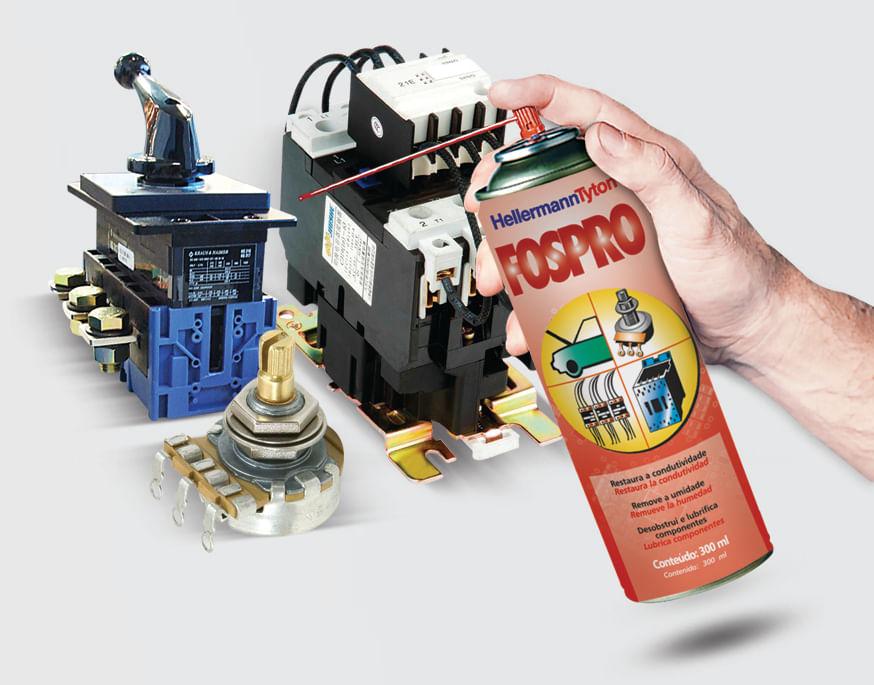 Limpador de Contatos Elétricos Fospro 300ml - Ferramentas Gerais d67a56b2a7
