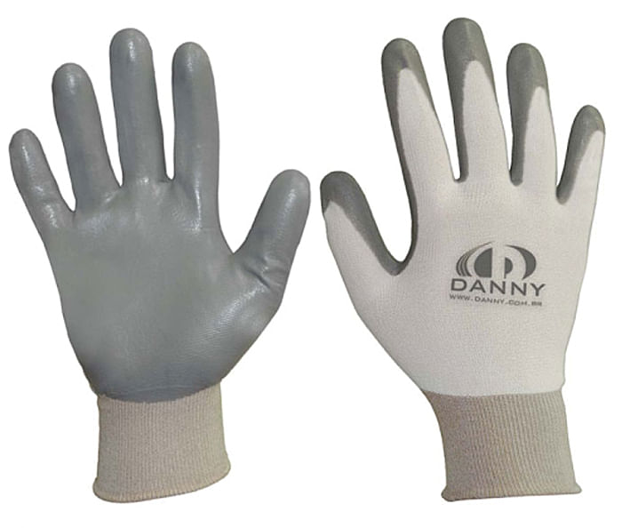 Luva Nylon Revestida Nitrílico Antiestática Ultraflex DA-12600 - Danny 45cf750753