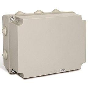 Caixa-de-Montagem-Opaca-PVC-245x185x152mm-IP55-Cinza---SEX231-A---Steck