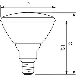 Lampada-Halogena-Par-38-100W-220V-E27--Philips---PAR38-100W230-30---Philips