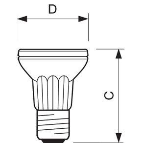 Lampada-Halogena-Par-20-50W-110V-E27--Philips---PAR20-50W130-25---Philips